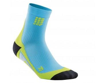 cep SHORT socks hawai blue/green