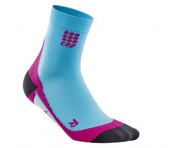 cep SHORT women's socks hawai blue/pink