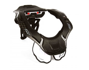 LEATT DBX 6.5 CARBON neck brace carbon/white