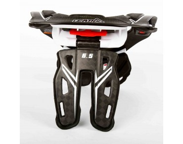 LEATT DBX 6.5 CARBON nekbrace carbon/white