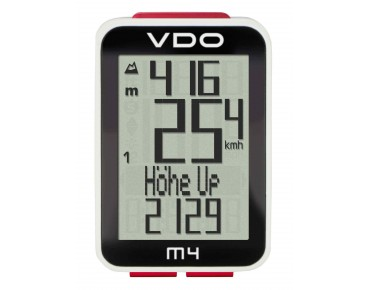 VDO M4 WL bike computer, wireless