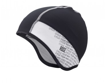 ROSE CYCLE YOUR WAY under helmet hat black-white