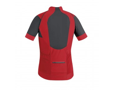 GORE BIKE WEAR ALP-X PRO WINDSTOPPER SOFT SHELL zip-off jersey jacket red/black