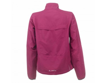VAUDE DUNDEE CLASSIC ZO LTD women's windproof jacket bordeaux