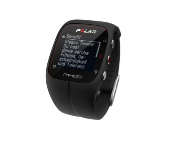 Polar M400 HR sports watch black