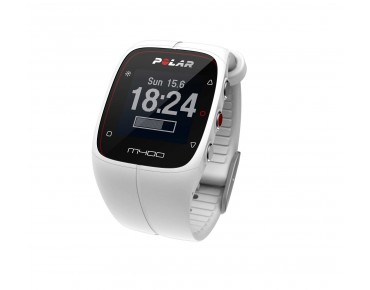 Polar M400 sports watch white