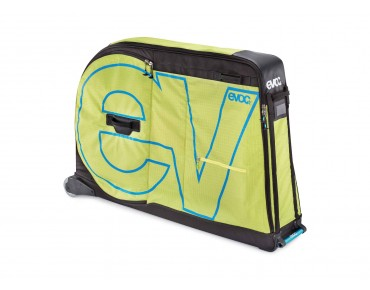 evoc BIKE TRAVEL BAG PRO flight bag lime