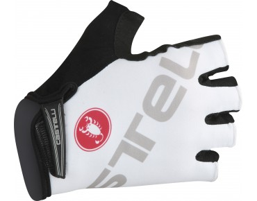 Castelli TEMPO V gloves white/grey