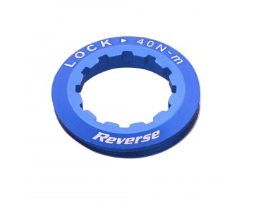 Reverse cassette lock ring dark blue