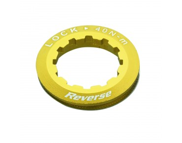 Reverse cassette lock ring gold