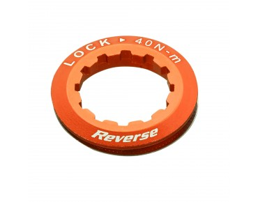 Reverse cassette lock ring orange