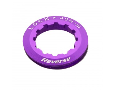 Reverse cassette lock ring purple