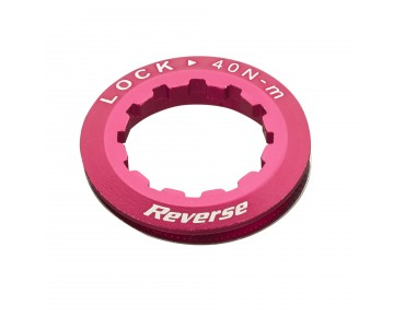 Reverse cassette lock ring red