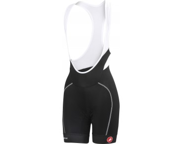 Castelli VELOCISSIMA women's bib shorts black/white