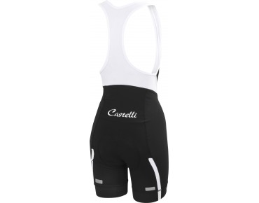 Castelli VELOCISSIMA women's bib shorts black-white