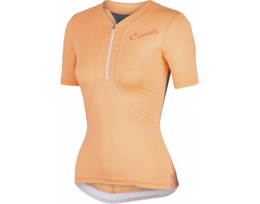 Castelli BELLISSIMA women's jersey light orange