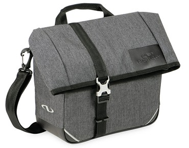NORCO BARNSBURY - borsa manubrio incl. supporto KLICKfix tweed grey