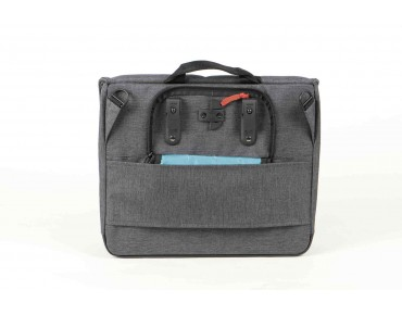 NEWBURY CITY pannier tweed grey