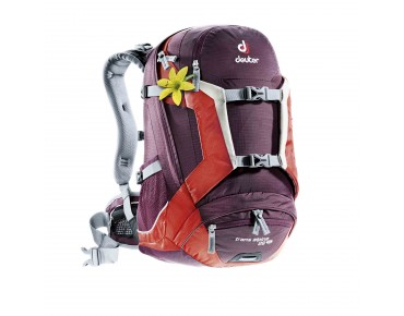 deuter TRANS ALPINE 26 SL women's backpack aubergine-fire