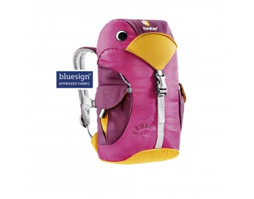 deuter KIKKI kids' backpack magenta-blackberry