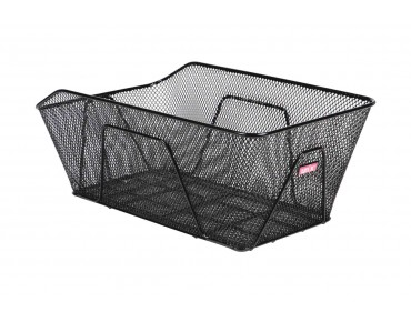Unix ROSANO rear bicycle basket for permanent installation black