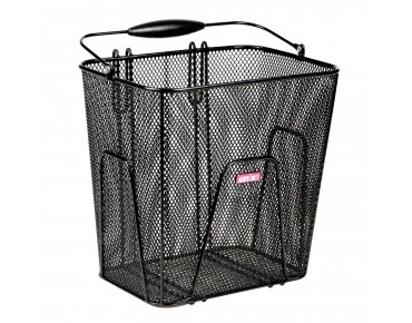 Unix RUGGERO rear bicycle basket black