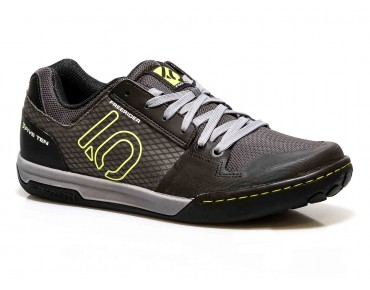 FIVE TEN FREERIDER CONTACT - scarpe MTB flat black/lime punch
