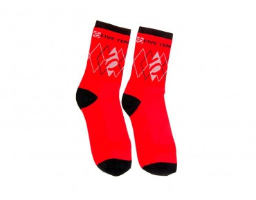 FIVE TEN 5.10 socks red/black