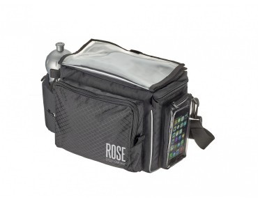 ROSE KF handlebar bag incl. KLICKfix adapter plate black