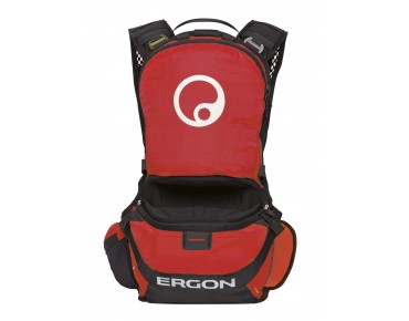ERGON BE1 ENDURO PROTECT - zaino protezione black/red
