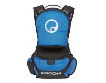 ERGON BE1 ENDURO PROTECT protector backpack black/blue