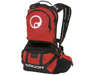 ERGON BE2 Enduro Rucksack black/red