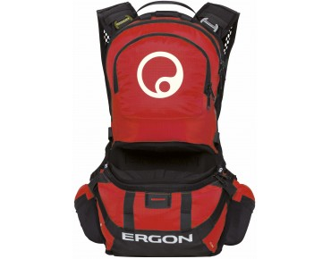 ERGON BE2 Enduro backpack black/red