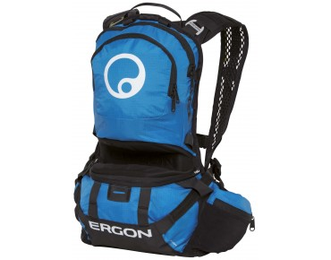 ERGON BE2 Enduro Rucksack black/blue