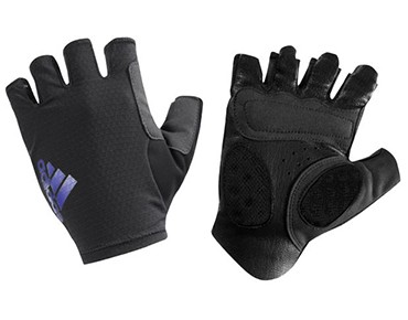adidas adistar gloves black/amazone purple