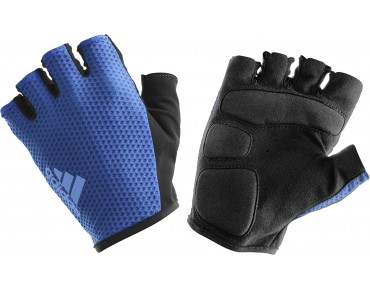 adidas response team gloves collegiate navy/lucky blue s15