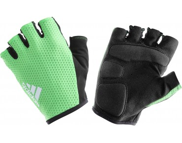 adidas response team gloves flash green/light grey