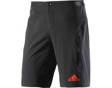 adidas trail race Bikeshorts black