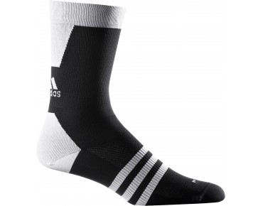 adidas infinity socks black/white