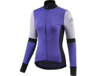 adidas supernova - maglia maniche lunghe donna night flash/black
