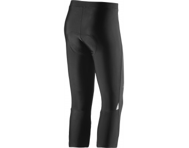adidas response plura women's 3/4-length cycling tights black