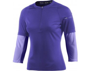 adidas trail sport women's jersey night flash s15/light flash purple s15