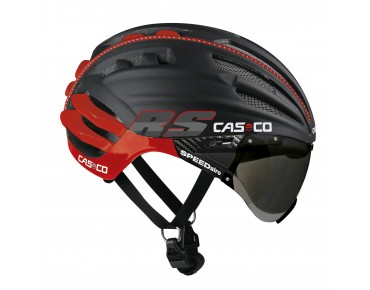 CASCO SPEEDairo RS helmet black/red