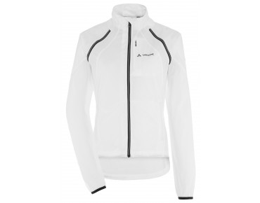 VAUDE WINDOO JACKET zip-off windbreaker for women white