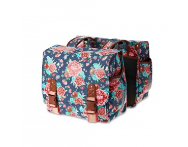BASIL BLOOM DOUBLE BAG double pannier for women indigo blue