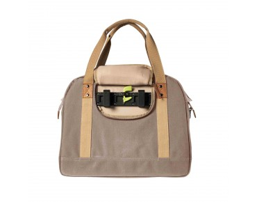 BASIL PORTLAND SHOULDER BAG 19 l bicycle bag for women taupe