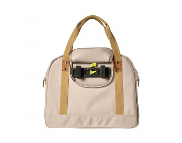 BASIL PORTLAND SHOULDER BAG 19 l bicycle bag for women cream
