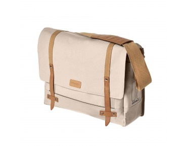 BASIL PORTLAND MESSENGER BAG bicycle bag cream