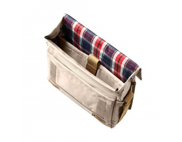 BASIL PORTLAND MESSENGER BAG bicycle bag crème