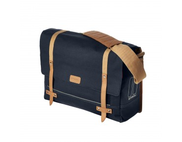 BASIL PORTLAND MESSENGER BAG bicycle bag dark blue